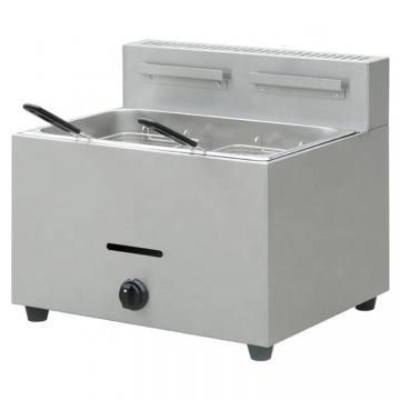 1/2 Gas Griddle&Fryer Kitchen Equipment Sandwich Grill Machine