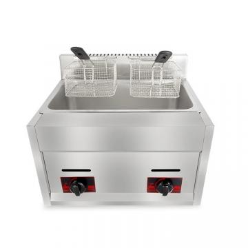 Commercial Countertop Gas Deep Fryer Frying Machine Gzl-92