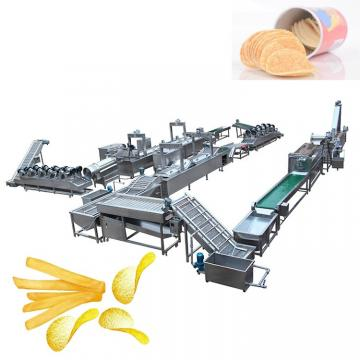 Semi-Auto Potato Chips French Fries Potato Chips Snack Making Machine