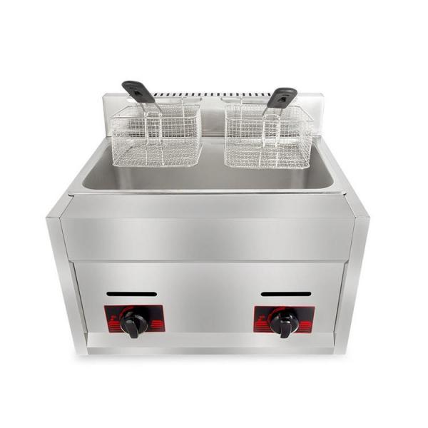 Fast Food Shop Widely Use Gas Heat Donut Fryer Machine