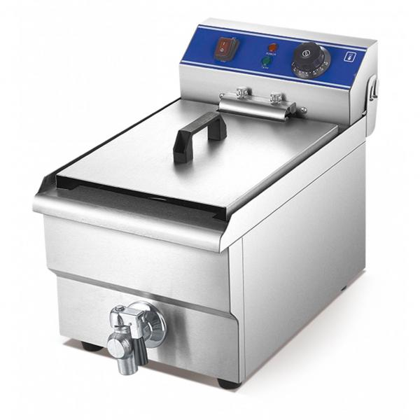 Industrial Commercial Doughnut Turkey Gas Potato Griddle Double Chips Fryer Machine Stainless Steel