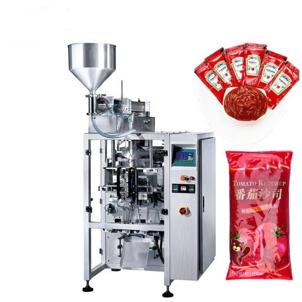 Semi-auto jam ketchup yogurt cosmetic cream filling packaging machine